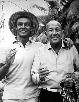 Sean Connery and Noel Coward