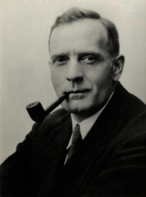 Edwin Powell Hubble, undated portrait