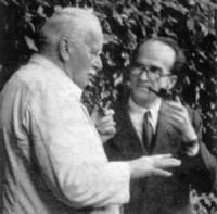 Mircea Eliade and Karl Gustav Jung, in Ascona,1952