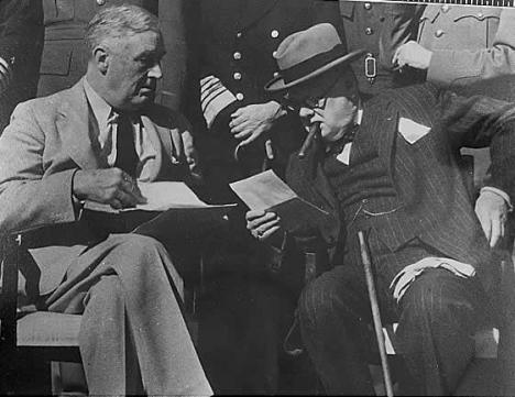Franklin D. Roosevelt and Winston Churchill